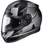 Black/Gray CL-17 MC-5 Striker Helmet - 57-9376
