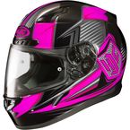 Neon Pink/Black CL-17 MC-8 Striker Helmet - 57-9386
