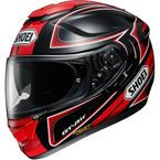 Black/Red/White GT-Air Expanse TC-1 Helmet - 0118-1701-06