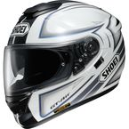 Black/White/Gray GT-Air Expanse TC-6 Helmet - 0118-1706-06