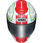Red/White/Green GT-Air Expanse TC-10 Helmet - 0118-1710-06