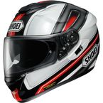 Black/Red/White GT-Air Dauntless TC-1 Helmet - 0118-1801-06