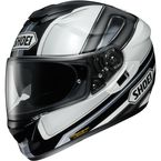 Black/White/Gray GT-Air Dauntless TC-11 Helmet - 0118-1811-06