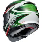 Red/White/Green RF-1200 Vakyrie TC-4 Helmet - 0109-2304-06