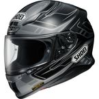 Black/Gray RF-1200 Valkyrie TC-5  Helmet - 0109-2305-06