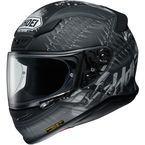 Black/Gray RF-1200 Seduction TC-5 Helmet - 0109-2505-05