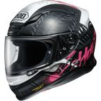 Black/White/Pink RF-1200 Seduction TC-7 Helmet - 0109-2507-06