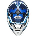 Blue/White/Black VFX-W Capacitor TC-2 Off-Road Helmet - 0145-9002-06