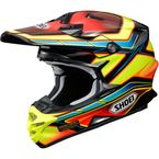 Red/Yellow/Blue VFX-W Capacitor TC-3 Helmet - 0145-9003-06