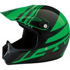 Youth Gloss Green Roost SE Helmet - 0111-1035
