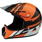 Youth Gloss Orange Roost SE Helmet - 0111-1040