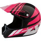 Youth Gloss Pink Roost SE Helmet - 0111-1042