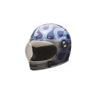 Blue Carbon Candy Bullitt Helmet - 7073833