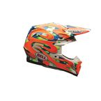 Orange MC Replica Moto-9 Carbon Flex Helmet - 7073701