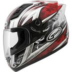 White/Red GM69S Platinum Series Crusader 2 - 72-4881X