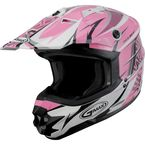 Pink/White/Black GM76X Player Helmet - 72-6809L