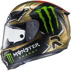 Gold/Red/Green/Black RPHA-10 Pro MC-1 Lorenzo/Monster Replica Sparteon Helmet  - 0801-2701-08