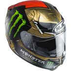 Gold/Red/Green/Black RPHA-10 Pro MC-1 Lorenzo/Monster Replica Sparteon Helmet  - 0801-2701-06