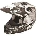 Black HMK Stamp F2 Carbon Helmet - 73-4921S