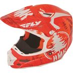 Orange HMK Stamp F2 Carbon Helmet - 73-49242X