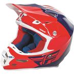 Red/Blue/White F2 Carbon Pure Helmet - 73-4122S