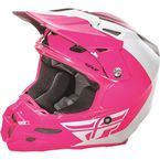 Pink/White/Black F2 Carbon Pure Helmet - 73-4129L