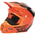 Flo Orange/Black F2 Carbon Pure Cold Weather Helmet - 73-4127L