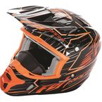 Orange/Black Kinetic Pro Cold Weather Speed Helmet - 73-4931L