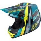 Green Air Beams Helmet - 117127803