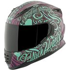 Purple/Teal Black Heart SS1310 Helmet - 874869