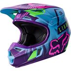 Youth Blue Vicious SE V1 Helmet - 18165-002-L