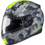Flat Dark Gray/Light Gray/Hi-Vis Green CL-17 Void Helmet - 57-9636