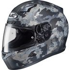 Flat Dark Gray/Light Gray CL-17 Void Helmet - 844-958