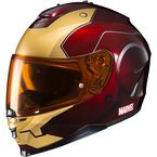 Red/Yellow Marvel MC-1 IS-17 Ironman Helmet - 58-5216