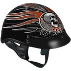 Black Stitches Helmet - HLD1033M