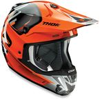 Orange/Gray Verge Vortech Helmet - 0110-4731
