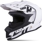 Youth Matte White Storm Chaser Altitude Helmet - 509-HEL-ASC-YL
