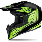 Matte Black/Lime Tactical Helmet - 509-HEL-TL7-XL