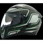 Black/Green Strike OP SV Helmet - 0101-9110