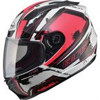 Red/White/Black FF88 X-Star Helmet - 72-4771S