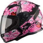 Youth Black/Pink GM49Y Attack Street Helmet - G7494402