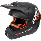 Black/Orange Torque Recoil Helmet - 170620-1030-10