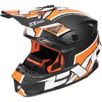 Black/Orange/White Blade Clutch Helmet - 170601-1030-13