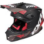 Black/Red/Charcoal Blade Vertical Helmet - 170602-1020-13