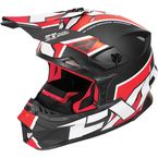 Black/Red/White Blade Clutch Helmet - 170601-1020-16