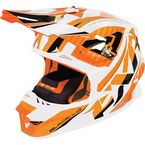 Orange/White/Black Blade Throttle Helmet - 170603-3001-13