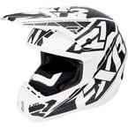 White/Black Torque Core Helmet - 170621-0110-13