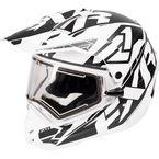 White/Black Torque X Core Helmet w/Electric Shield - 170610-0110-07