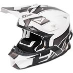 White/Charcoal/Black Blade Clutch Helmet - 170601-0108-13