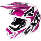 Wineberry/White Torque Core Helmet - 170621-8501-13